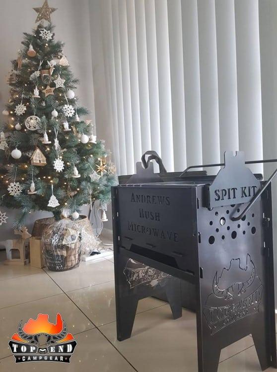 Bush Microwave Christmas Present -
