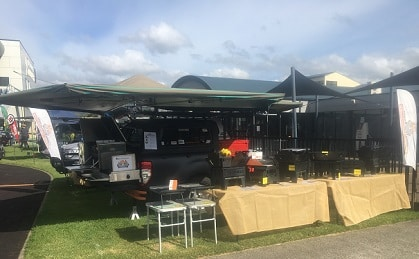 Kembla Grange Set Up