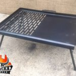 New Half Grill Collapsible BBQ Plate