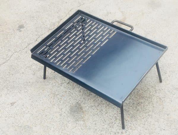Free Standing BBQ Plate - portable bbq
