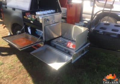Truck Kitchen Trailer