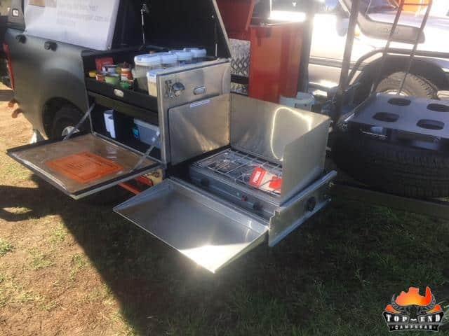 Camp Kitchen Gallery - https://www.topendcampgear.com.au/wp-content/uploads/2019/04/Truck_Kitchen_Demo_Trailer.jpg