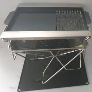 BBQ Spit Kit / Rotisserie Adapters to suit the Darche 450 Stainless Steel BBQ