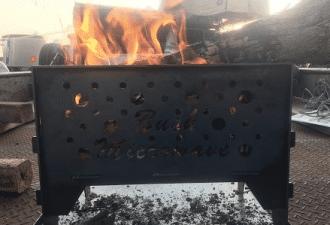 Bush Microwave, firepit